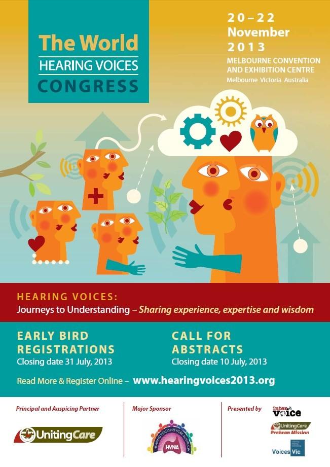 World Hearing Voices Congress 2013