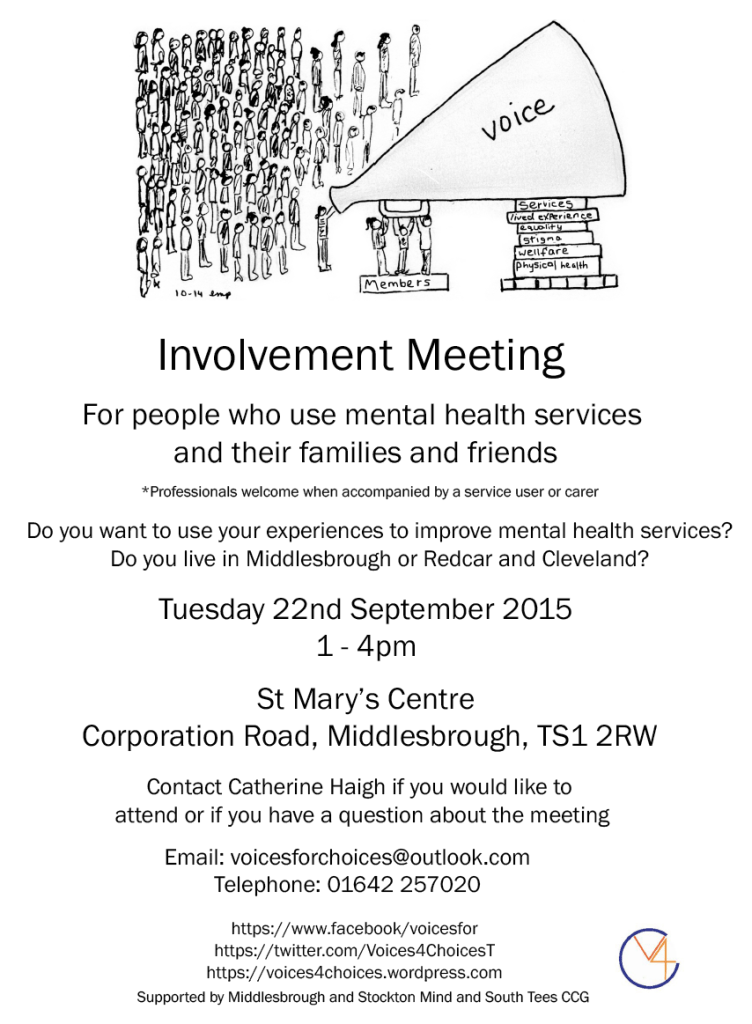 es Involvement meeting flyer