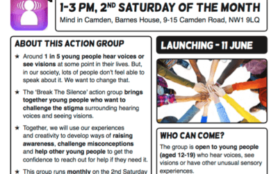 Break the Silence! Voice Collective Stigma-busting Action Group, London, 11 June 2016