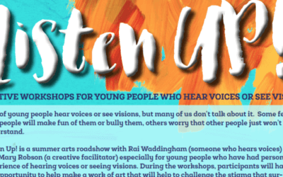Listen Up! Creative Workshops for Young People who Hear Voices or See Visions, July–September 2016