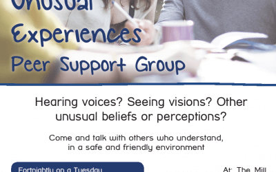 Oxford Unusual Experiences Peer Support Group, May-July 2017