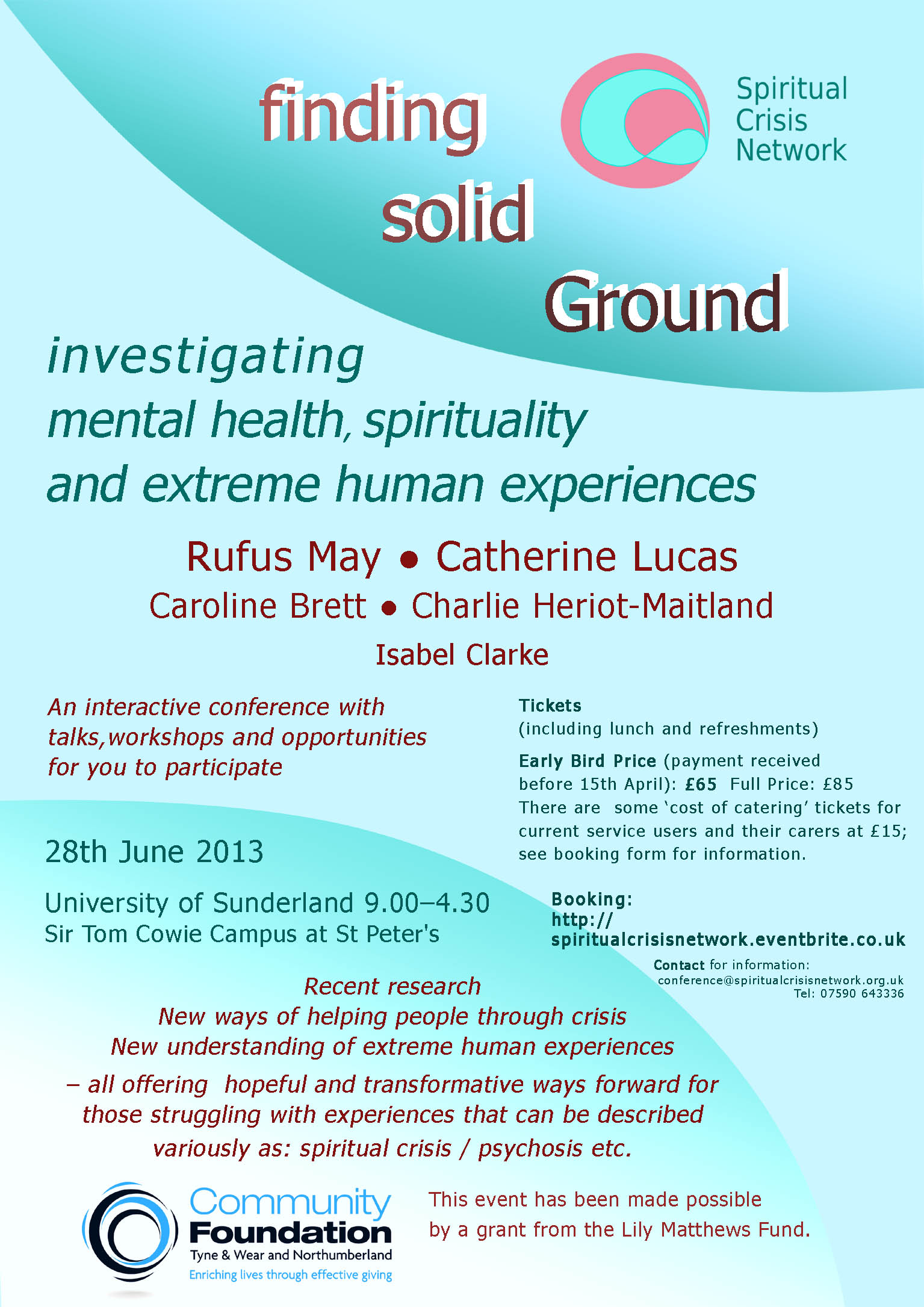 Finding Solid Ground Conference Flyer (2)