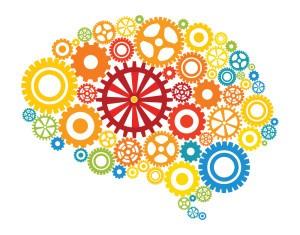 Brain cogs image