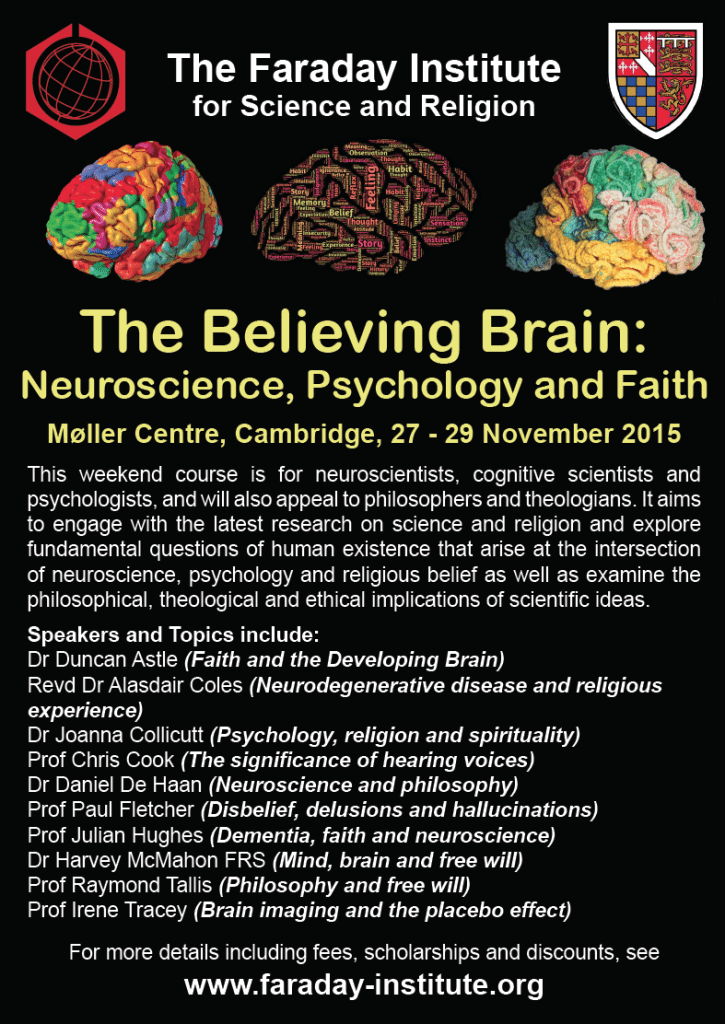 Believing Brain flyer
