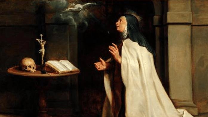 Peter Paul Ruben's: St Teresa of Avila's Vision of the Dove