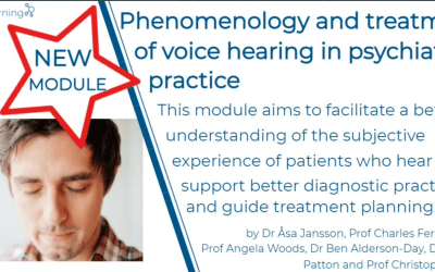 Announcing our new Royal College of Psychiatrists CPD eLearning module on hearing voices